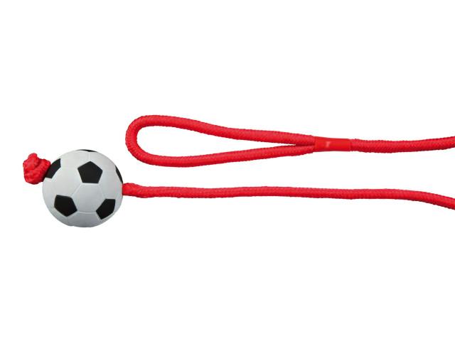 Jucarie Minge Fotbal 6 cm cu Sfoara 1 m 3307