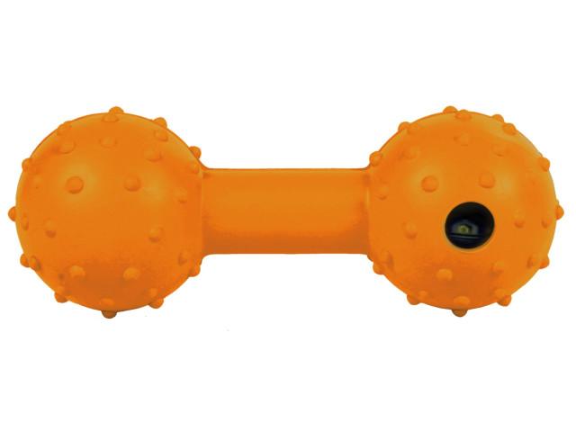 Jucarie Os cu Clopotel Cauciuc Natural 12.5 cm 3335