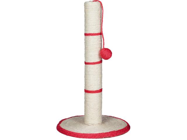 Sisal Plat cu Stalp si Jucarie H50 cm Diametru 31 cm 4309