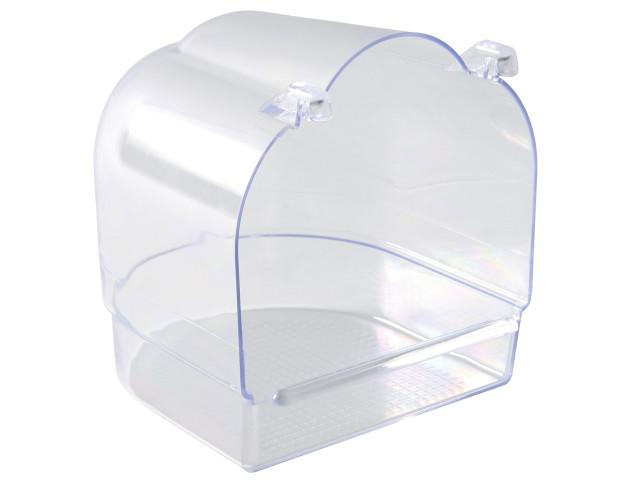 Cadita Plastic Acoperit Transparent 13x12x13 cm 5402