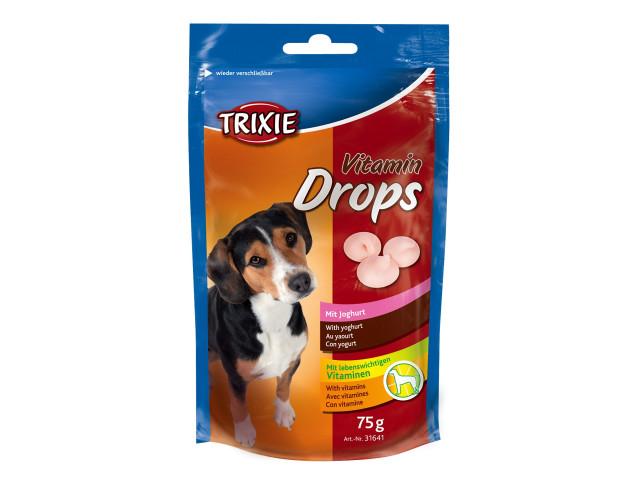 Drops Caini Iaurt 75 g cu Vitamine 31641