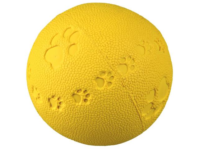 Jucarie Minge Cauciuc Natural 6 cm cu Sunet 34861