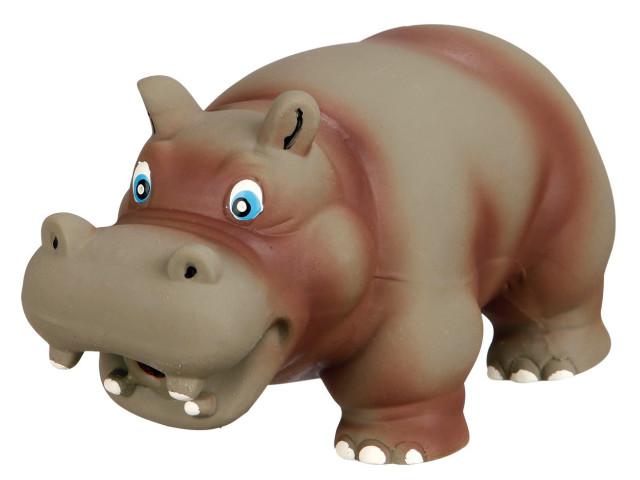 Jucarie Hipopotam Latex cu Sunet Original 17 cm 35472