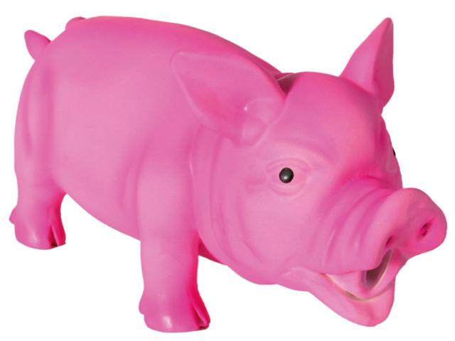 Jucarie Porc Latex cu Sunet Original 21 cm 35491