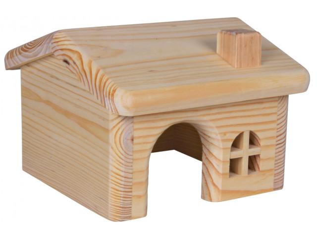 Casuta Lemn Hamster 15x11x15 cm 61251