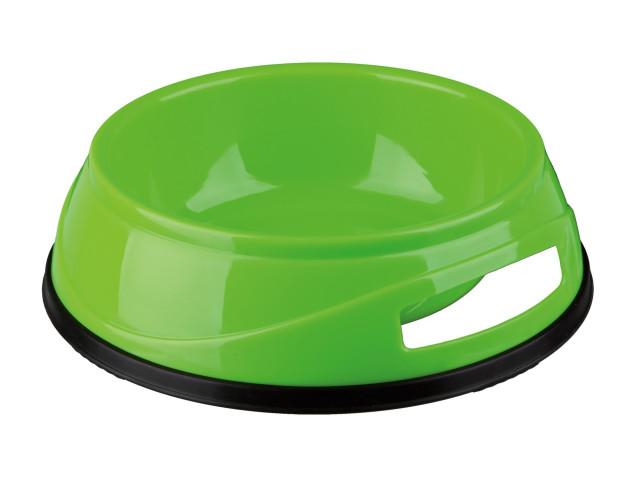 Castron Plastic cu Greutate Antiderapant 0.3 l/12 cm 24950
