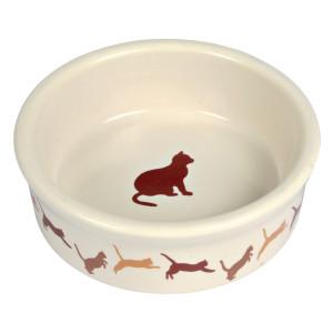 Castron Pisica Ceramica 0.25 l/11 cm 4019