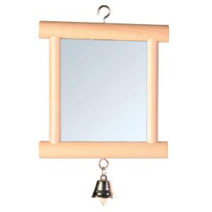 Jucarie oglinda in rama de lemn 9x10cm 5860