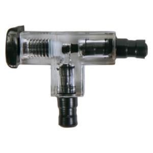 Ramificatie reglabila cu valva din plastic 5mm 8039