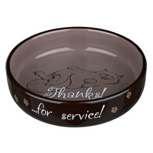Castron ceramica pisici 0.3l/15cm 24795