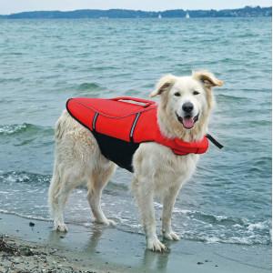 Vesta de salvare,xs-26cm,30-50cm 12kg rosu-negru 30141