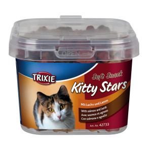 Recompense Kitty Star 140 g cu Somon si Miel 42733