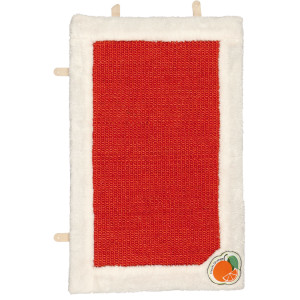 Sisal alb/rosu,fructe 55 x 35 cm 43040