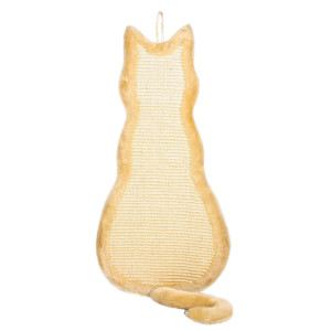 Sisal Perete In Forma de Pisica 35x69 cm Bej 43112