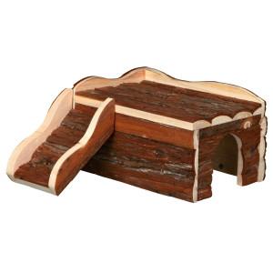 Casuta lemn natural 30x16x32cm 61984