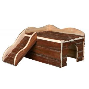 Casuta lemn pentru animale mici 38x25x50 cm 61985