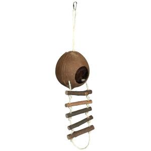 Casuta natural din cocos 13 x 56 cm 62102