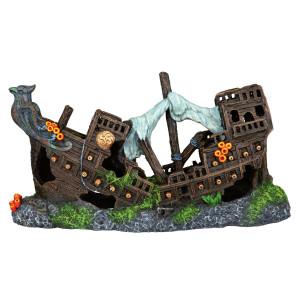 Decor Barca Naufragiata 23 cm 87816