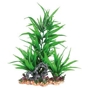 Decor plante din plastic in pietris 28cm 89303