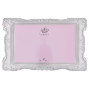 Set masa princess 44x28cm roz 24785