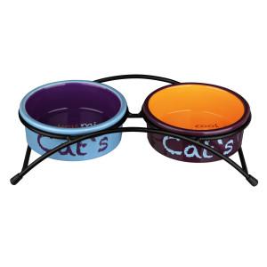 Set 2buc castron ceramica in suport 0.3l /12cm 24791