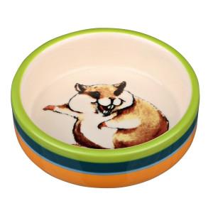 Castron Ceramica Hamster 80 ml/8 cm 60801