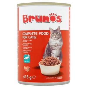 Conserva Cat Brunos 415g, Peste