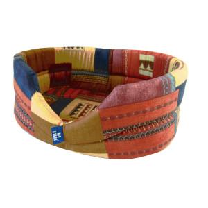 Cos burete textil oval 1