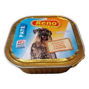 Pate Reno dog cu pui 300g (9buc/bax)