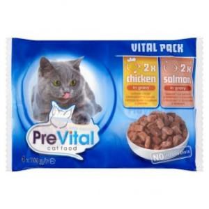 Prevital Cat 4x100g piu +somon