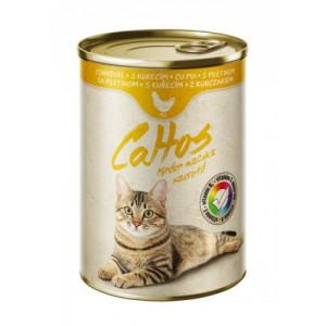 Conserva Cat Cattos 415g Pui