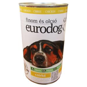 Conserva Eurodog 1240 g Pui