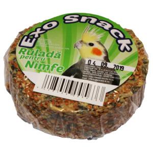 Exo Snack Rulada pentru Nimfe 70 g 641022