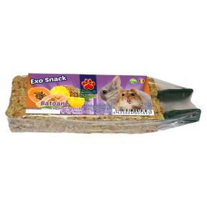 Exo Snack baton pentru rozatoare cu fructe exotice, 2buc, 70g