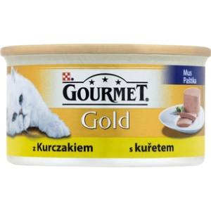 Pateu pisici gourmet gold 85g, pui