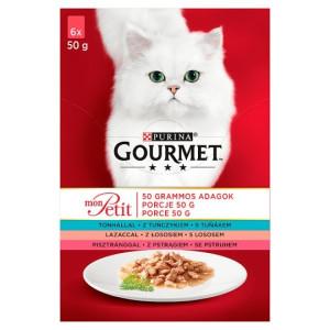 Gourmet Mon Petit 6*50g Ton/Pastrav
