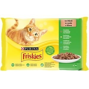 Friskies Multipack 4 x 85 g Pui/Vita/Ton/Peste