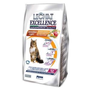 Hrana Uscata pisici MongeLechat Excelence 400 g Sensitive Light (R)
