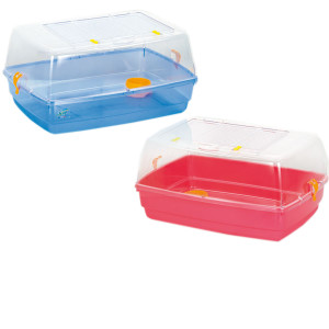 Cusca plastic bernie cu capac 53*38*25.5cm 20070070