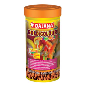 Gold Color floating chips 100ml - dp110a