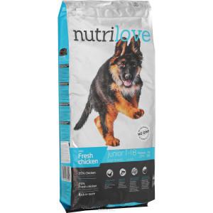 Nutrilove Dog Junior 12 kg Pui