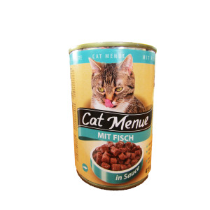 Conserva Pisici Austria Cat Menu Peste 415 g [20/bax]