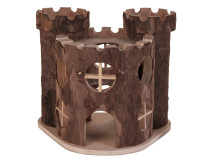 Castel Lemn Hamsteri 17x15x12 cm 6168