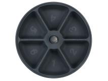Hranitor Automat TX6 6x240 ml 10 cm Granit/Alb 24383
