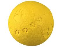 Jucarie Minge Cauciuc Natural 9 cm cu Sunet 34863
