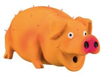 Jucarie Porc Latex cu Sunet Original 21 cm 35499