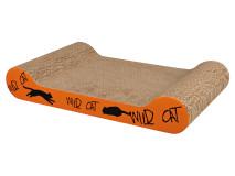 Carton Scratch me Wild Cat 41x7x24 cm Portocaliu 48000