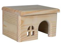 Casuta Lemn Hamster 15x12x15 cm 61261