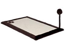Sisal Plat cu Rama 70x45 cm Maro cu Jucarie 4323
