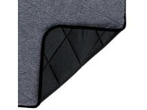 Covoras Calduros Antiderapant 90x70 cm Gri 28694